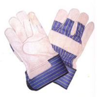 Wholesale Super quality leather palm garden work gloves ZM642-G from china suppliers
