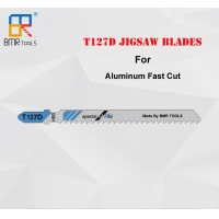Wholesale BMR TOOLS Professional Quality T127D Jigsaw Blade specially for Alumunim fast cut,HSS Material,100mm Length from china suppliers
