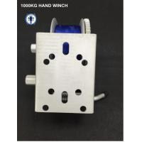 Wholesale 1000kg Hand Winch Zinc Plated from china suppliers