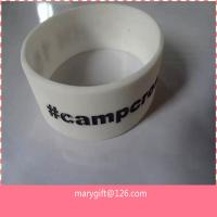promotional thick cool mens wide silicone rubber bracelet in bulk for sale