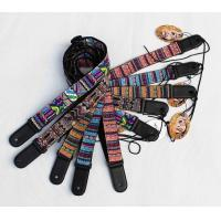 Wholesale 120-180 Cm Classic Personalised Guitar Strap Dye Sublimation Printed Logo from china suppliers