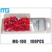 Wholesale Colorful Customized Terminal Assortment Kit MG-100 1 / 2 Types SV RV HV Terminals 100pcs from china suppliers
