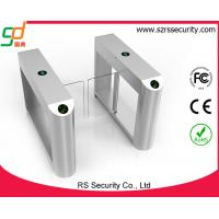 Quality RFID Card Reader Swing Barrier Gate, Glass Gates Access Control Turnstile for sale