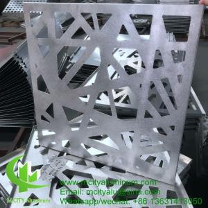 Decorative  Perforated Sheet  Facade Insulated aluminum Wall Cladding Exterior