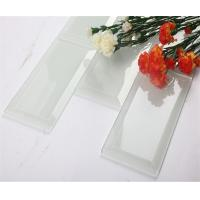 Wholesale Antioxidant Transparent Glass Mosaic Subway Tile / Brick Glass Tile from china suppliers