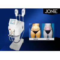 Buy cheap RF Vacuum Fat Freeze Slimming Machine Skin Tightening Beauty White / Gray Device from Wholesalers