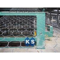 China Automatic Hexagonal Wire Netting Production Line Heavy Duty Gabion Mesh Machine on sale
