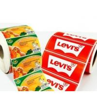 Wholesale OEM Glossy Food Product Sticker / Label Roll Waterproof With Logo Printing from china suppliers