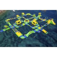 Quality Customized Floating Indoor Water Park Safety Sporting Capacity 145 People for sale