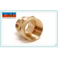 China Custom High Speed Brass Machined Parts / Brass Turned Parts For Trucks , OEM ODM on sale