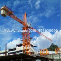 Wholesale Easy Transfer Heavy Construction Machinery , 6 Ton 0 - 80m Span Hydraulic Self - Raising Tower Crane Loader from china suppliers