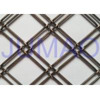 China Home Bunch Decorative Wire Mesh For Cabinet Doors Transparent Interior Design on sale