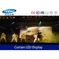Wholesale 3 in 1 IP43 / IP54 Curtain LED Display Screens Advertising For Stage Backdrop from china suppliers