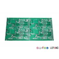 Buy cheap TG130 FR4 PCB Industrial Circuit Board 4 Layers With HASL Surface Finish from wholesalers