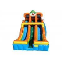 Wholesale Customized Size Large Inflatable Slide With Coloful Shape For Backyard from china suppliers