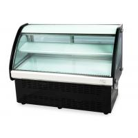 Wholesale High Humidity Curved Glass Cake Display Cabinet (90cm-120cm) Countertop Food Cake Showcase from china suppliers