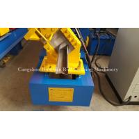 China Single Side Adjustable Small C Purlin Roll Forming Machine with PLC Frequency Control System on sale