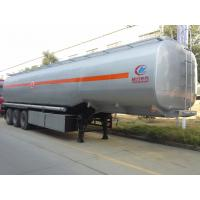 Wholesale Stable 3 Axles Fuel Tank Truck Trailer With Heavy Duty Landing Gear from china suppliers