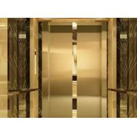Buy cheap Market Safety Gear Double Door Elevator Speed Range 0.25m/S - 1.0m/S from Wholesalers
