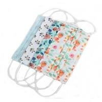 Wholesale Breathable Disposable Earloop Face Mask For 3 - 10 Years Old Kids from china suppliers