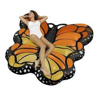 Wholesale OEM Floating Mat Butterfly Sea Inflatable Ride On Pool Float Summer PVC Lounger from china suppliers