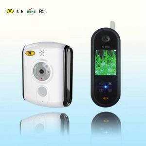 China 2.4GHZ Digital Colour Video Intercom Doorbell Li-ion Battery Operated on sale