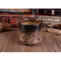 Wholesale Leopard Print Transmutation Ceramic Candle Holder For Scent Candle , Round Bottom from china suppliers