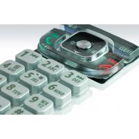 Wholesale High Grade Remote Control Keypad Use Metal Laser Surface Silicone Rubber Button from china suppliers