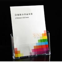 Wholesale 3mm Clear Shrink Acrylic Brochure Holders Transparent For A4 A5 Ducument Display​ from china suppliers