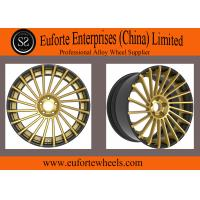 Buy cheap Golden  Coating Forged Wheels 98-120mm PCD / New Design Car Alloy Wheels from wholesalers