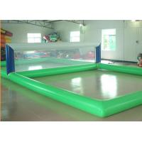 Quality Floating Inflatable Water Sports Gmaes Toys Volleyball Inflatable Court for sale