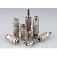 Wholesale Nickle Plated Pneumatic Quick Connect Coupling In Brass LSQ-17 Rectus 17KA from china suppliers