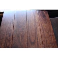 Solid prefinished asian walnut flooring for sale