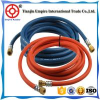 Wholesale 50m 100m  rubber twin welding hose oxygen & acetylene double hose  green bule one from china suppliers