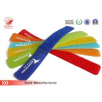 Wholesale Quick Release Hook And Loop Straight Cable Tie Hook And Loop Fastener , Uv Resistant from china suppliers