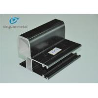 Wholesale Black Finished Powder Coating Aluminium Extrusion Profile For Decoration from china suppliers