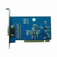 China DVR Card with 10-bit Video Decoder, 3G Mobile Phone Viewing, IE Viewing (DDNS), 32-channel Real-time for sale
