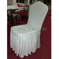 Wholesale White Chair Cover Handmade, With Elegant Folds from china suppliers