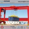 U Typed Double Girder Heavy Duty Gantry Crane For Port Use for sale