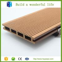 China HEYA non-slip wpc decking wood plastic composite fence panels on sale
