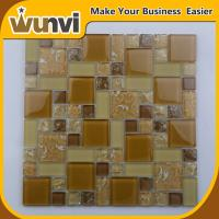 Wholesale Proffesional Glass Mosaic Wall Tiles Craft  Projects Building Material 8mm from china suppliers