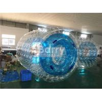 Wholesale Waterproof Custom Inflatable Pool Toys Blue Water Roller For Kids / Adults from china suppliers