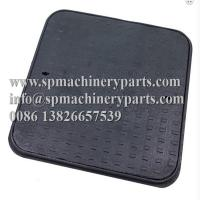 China Medium Duty Ductile Iron Manhole Cover Iron 12.5T 600mm x 600mm Single Seal with Closed Keyways on sale