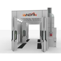 Quality Industrial Paint And Dry Station, Diesel Heating Automobile Repair Large Spray Booth for sale