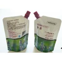 Wholesale Colorful Printing Liquid Spout Bags , Customized Stand Up Pouch With Spout from china suppliers