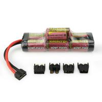 Wholesale MELASTA 8.4v 4200mAh 7-Cell Hump NiMH Battery with Universal Plug System for RC Racing Car from china suppliers