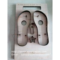 Slipper sole steel cutting dies
