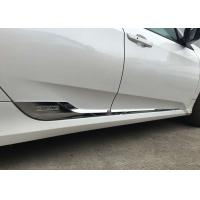 Buy cheap HONDA CIVIC 2016 Auto Body Trim Parts , Chromed Side Door Moulding from Wholesalers
