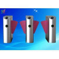 Wholesale Rfid Indoor Optical Turnstile Flap Barrier Gate Two Directions Controlled from china suppliers