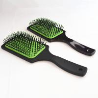 25cm Great Lengths Square Paddle Round Hair Brush With Air - Cushion for sale